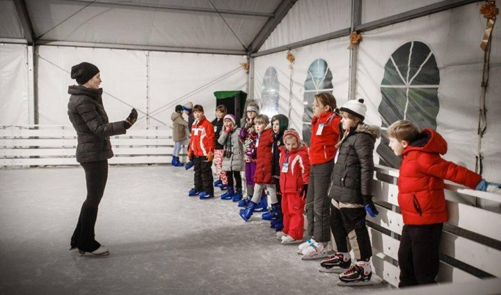 Opening of the  Rab Ice Skating Rink 4