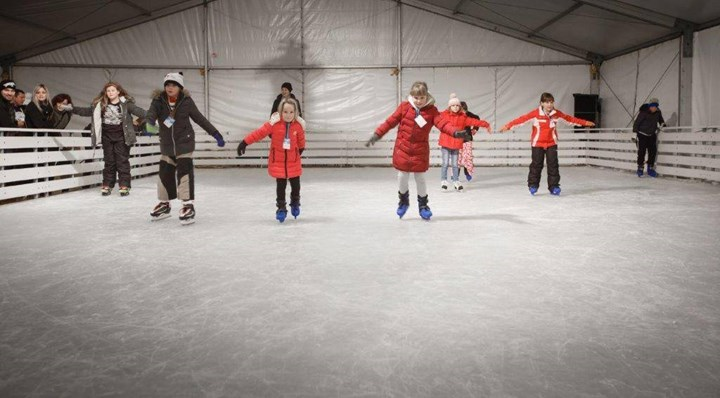 Opening of the  Rab Ice Skating Rink 1