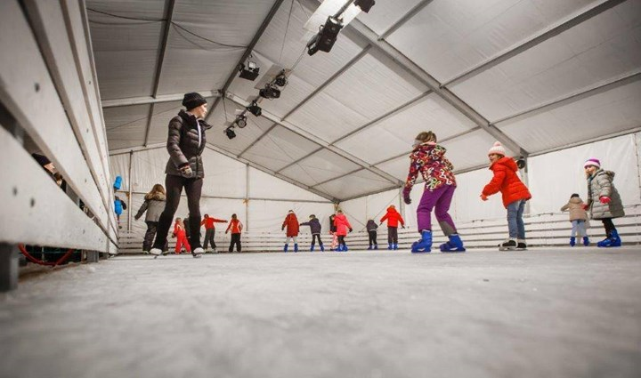 Opening of the  Rab Ice Skating Rink 2