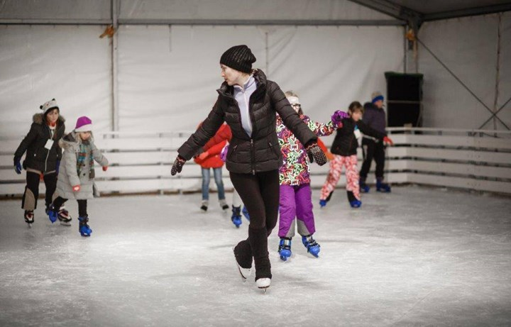 Opening of the  Rab Ice Skating Rink 3