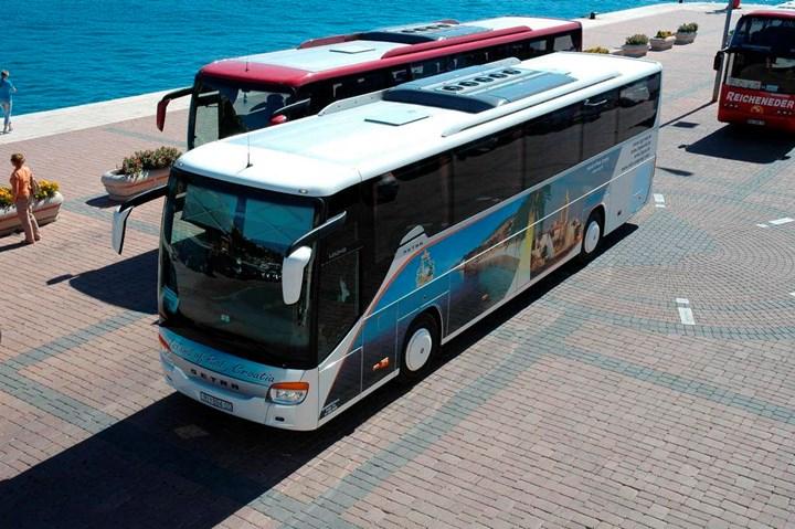 Mit dem Bus 0