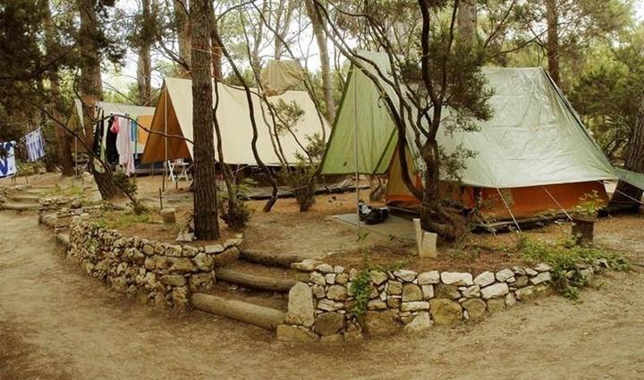 Campingpl 228 Tze Auf Der Insel Rab In Kroatien