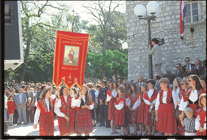 Križevo - traditional holy day of the islanders  0