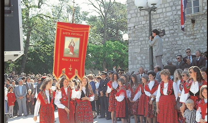 Križevo - traditional holy day of the islanders  0